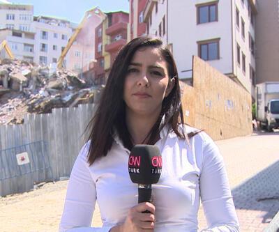 Yıkım kararı alınan 24 binadan 8'i yıkıldı