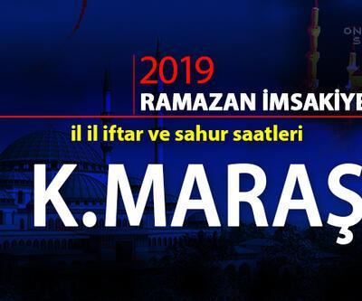 Kahramanmaraş 2019 Ramazan iftar saatleri: Kahramanmaraş oruç açma saati