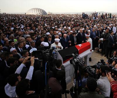 Tarihçi Kadir Mısıroğlu, son yolculuğuna uğurlandı