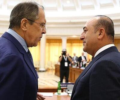 Bakan Çavuşoğlu Rus mevkidaşı Lavrov'la telefonda görüştü