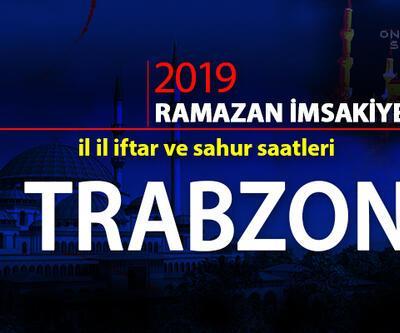 2019 imsak ve iftar saatleri: Trabzon imsak ve iftar saatleri – Diyanet