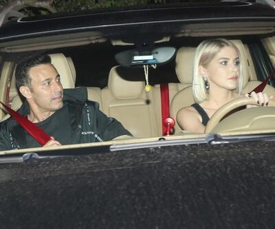 Mustafa Sandal sevgilisiyle görüntülendi