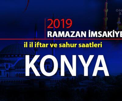 Konya iftar vakti 2019 Ramazan imsakiyesi - Konya ezan saatleri