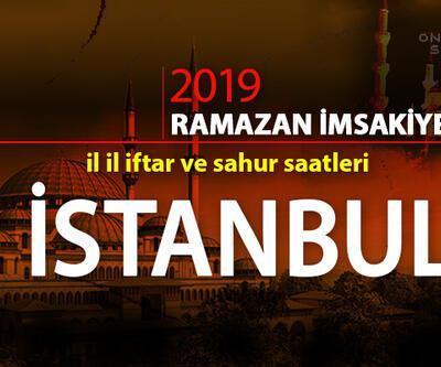 İstanbul imsak ve iftar saatleri 2019 - Diyanet iftar saatleri cnnturk.com'da...