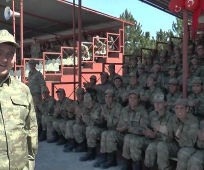 Bedensel ve zihinsel engelli gençlerin askerlik heyecanı