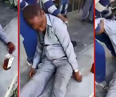 Hindistan'da sarhoş öğretmen okulda sızdı
