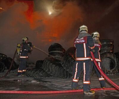 Başkent'te organize sanayi bölgesinde yangın
