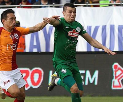 Çaykur Rizesporlu Samudio'nun cezası 1 maça indirildi