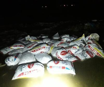 Muradiye'de 2,4 ton kaçak avlanan inci kefali ele geçirildi