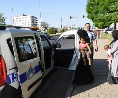 Himvan'da 2 dilenci ilçe dışına çıkarıldı