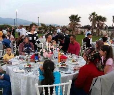 Kumlu'da şehit yakınları ve gazilerle iftar