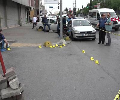 Gaziosmanpaşa'da benzin istasyonunda silahlı kavga 2 yaralı