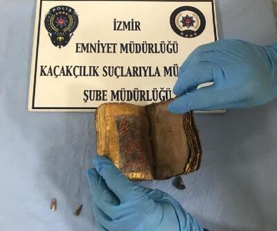 İzmir'de, İbranice tarihi kitap ele geçirildi
