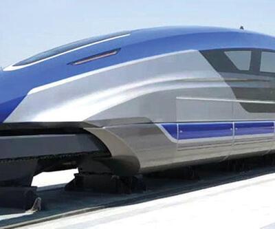 2021'de raylara çıkması planlanıyor... 600 kilometre hızla gidecek
