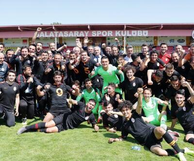 Galatasaray altyapıda da şampiyon
