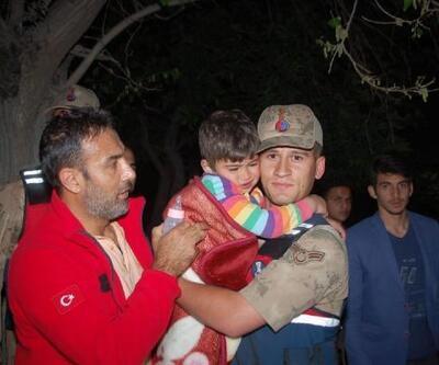 Her yerde aranan küçük Mustafa, tarlada uyurken bulundu