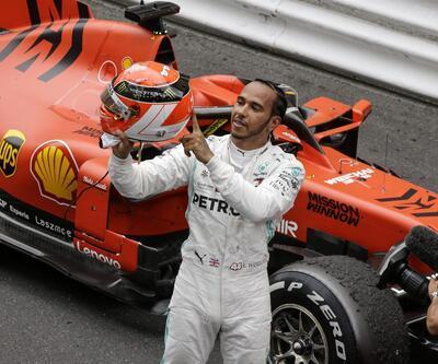 Monaco'da kazanan Hamilton