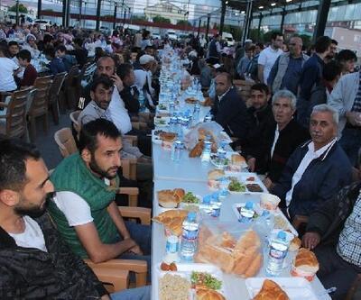 Tomarza'da halk iftarı yapıldı