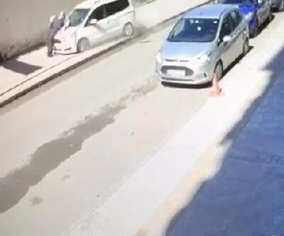 Kaldırımda hafif ticari aracın çarptığı yaya öldü