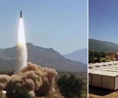 Hakurk'taki terör hedefleri yerli ve milli füzeyle vuruldu