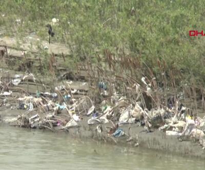 Karasu Nehri çöplüğe döndü