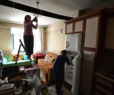 Niksar'da yaşlılara evde temizlik hizmeti