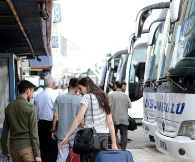 15 Temmuz Demokrasi Otogarı'nda bayram yoğunluğu