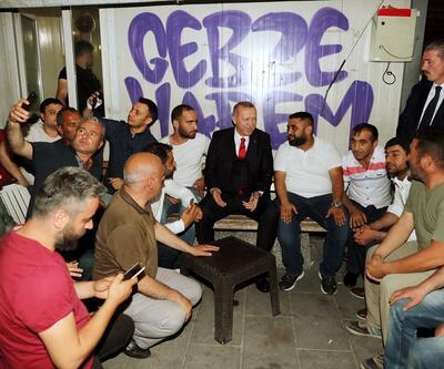 Cumhurbaşkanı Erdoğan Üsküdar'da vatandaşlarla sohbet etti