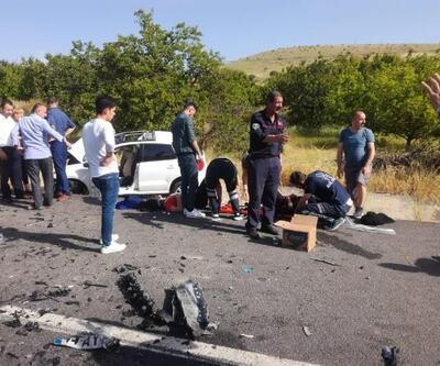Malatya'da kaza: Anne öldü, eşi ve 2 çocuğu yaralı