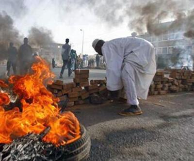 Sudan ordusundan halka sert müdahale