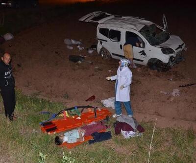 Tatil yolunda kaza; öğretmen, eşi ve 3 çocuğu yaralı