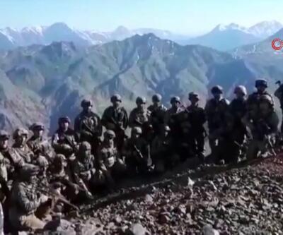 Türk askeri Hakurk'ta bayramlaştı