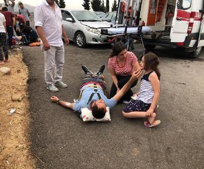 Hassa'da otomobiller çarpıştı: 1 ölü, 9 yaralı