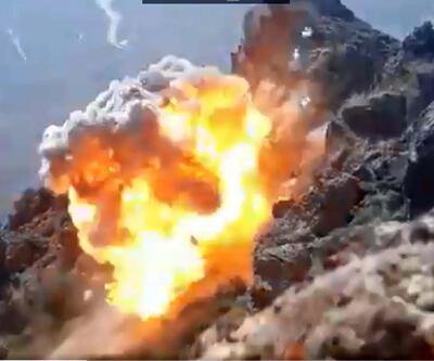 'Pençe' harekatında PKK'ya ait EYP düzenekleri ve malzemeler ele geçirildi