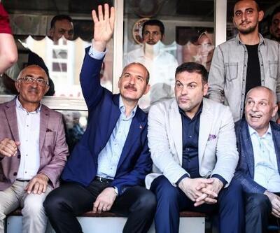 İçişleri Bakanı Süleyman Soylu Gaziosmanpaşa'da konuştu