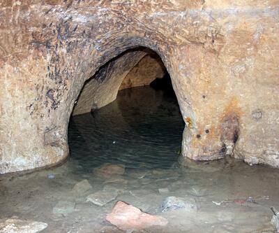 Evleri su basınca 5 kilometrelik yeraltı şehri ortaya çıktı