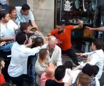 Halk taciz şüphelisini tekme tokat dövdü