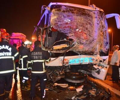Adana'da zincirleme kaza: En az 20 yaralı