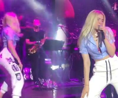 Aleyna Tilki rap söyleyip dans etti