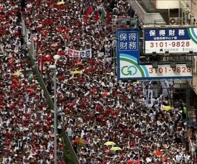 Suçluların Çin'e iadesi protesto edildi
