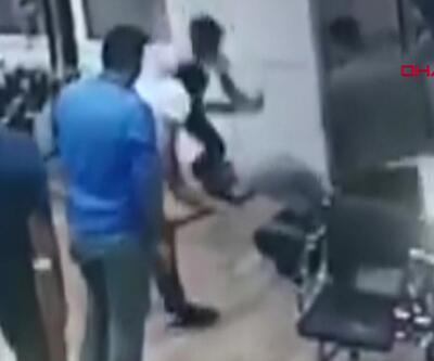 7 kişi kuaförü sopalarla dövdü