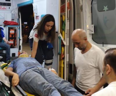 Elektrikli bisiklet ile otomobil çarpıştı: 2 yaralı