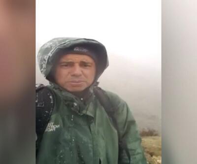 Türk kaşif kar leoparını görüntüledi