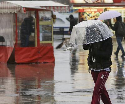 YAĞMUR BAŞLADI! İstanbul için kritik saat: Meteoroloji hava durumu