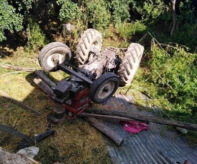 Üzerinde oynadıkları traktör devrildi, Enes öldü, Ada yaralandı