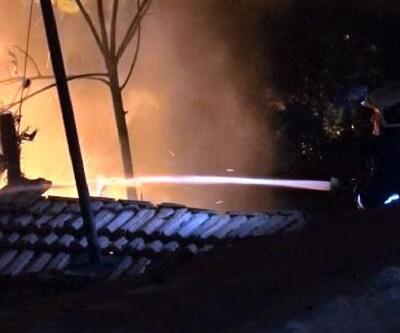 Başkent'te 2 gecekondu yandı: 6 kişilik Afgan aileyi komşuları kurtardı