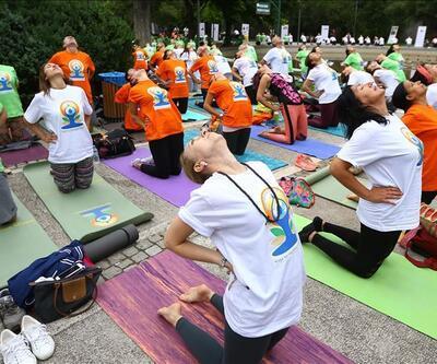 Hindistan Ankara Büyükelçiliği'nden yoga festivali