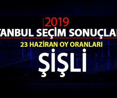 Şişli oy oranları… 23 Haziran 2019 İstanbul Şişli seçim sonuçları