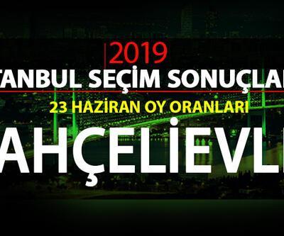 İstanbul seçim sonuçları: Bahçelievler – 23 Haziran İBB Başkanlık seçimi Bahçelievler oy oranları