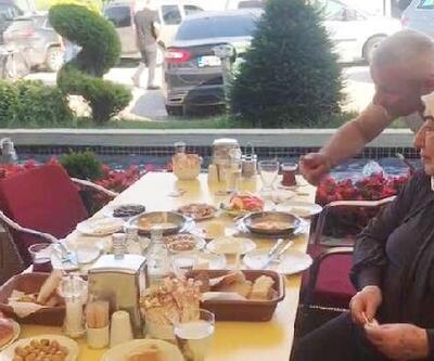 Binali Yıldırım ve eşi Semiha Yıldırım'dan Sakarya'da kahvaltı molası